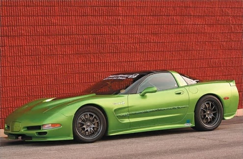 The Green Slime 220-MPH Daily Driver in Hot Rod Magazine